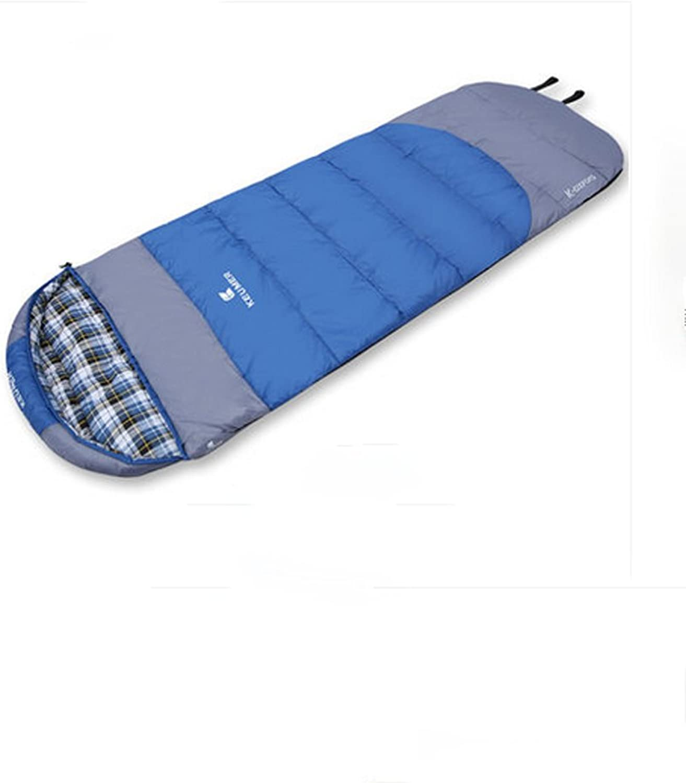 bienvenido a comprar Saco de Dormir para para para Adultos Grueso algodón Four Seasons Camping Saco de Dormir Doble Capa Saco de Dormir de  ¡No dudes! ¡Compra ahora!
