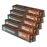 Starbucks House Blend Lungo Kaffee, 5er Set, Medium Roast, Röstkaffee, Nespresso kompatibel, Kaffeekapseln, 50 Kapseln