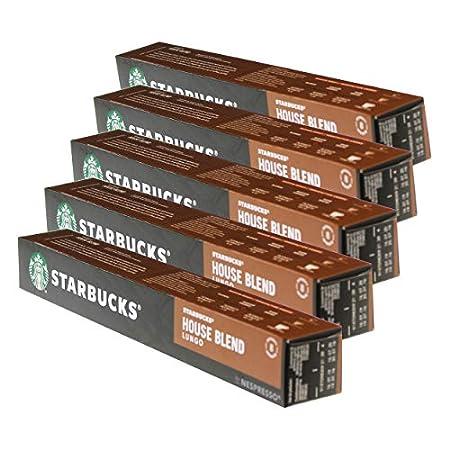 Starbucks House Blend Lungo Kaffee, 5er Set