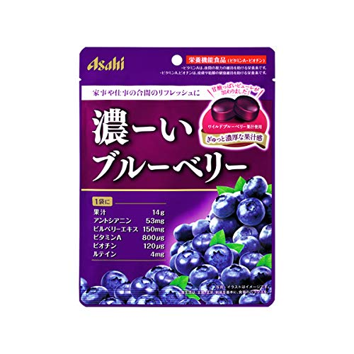 アサヒグループ食品 濃ーいブルーベリー 84g×48個入り (1ケース)