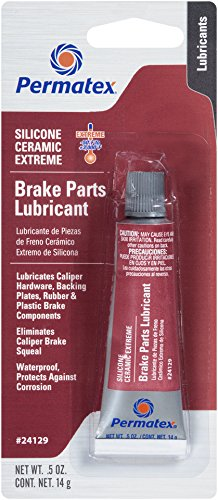 Permatex 24129 Silicone Extreme Brake Parts Lubricant, 0.5 fl. oz.