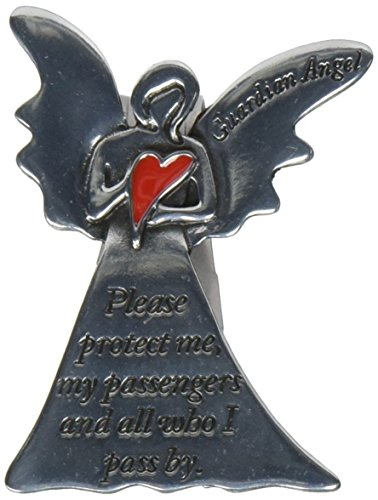 Cathedral Art Angel Visor Clip, Protect Me
