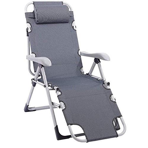 FACAZ Lightweight Durable Folding Chair Best Choice Product Zero Gravity Chair Cover, Black Outdoor Garden Beach Terrace Rest Chair