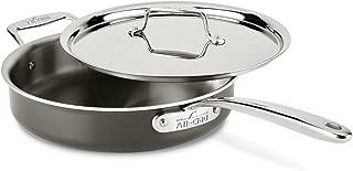 All-Clad 8701005446 Saute Pan Cookware, 3qt, Black