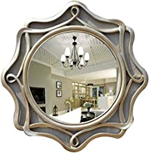 GRJ Household Items& Makeup Mirror Large Bedroom Mirrors Wall Mounted, Vintage Style Rococó, barroco, chique, decoração de...