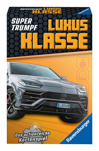 Ravensburger Kinderkartenspiele 20685 - Kartenspiel, Supertrumpf Car Tuning, Quartett und Trumpf-Spiel für Technik-Fans ab 7 Jahren