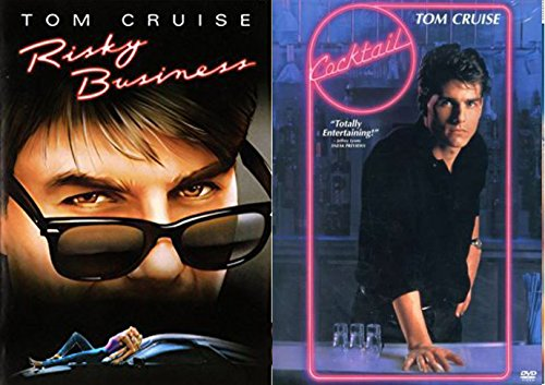 Cocktail + Risky Business 80's Tom Cruise DVD Set double feature bundle