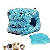 Cube Hamster coton nid, maison de lit de planeur de sucre chaud hiver, petit hamac suspendu en peluche pour furets Rat Hamster écureuil cochon d'Inde