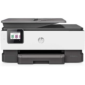 HP OfficeJet Pro 8022, Stampante Multifunzione a Getto di Inchiostro, Stampa, Scannerizza, Fotocopia, Fax, Wi-Fi, Wi-Fi Direct, Smart Tasks, 2 Mesi di Instant Ink Inclusi, Grigio