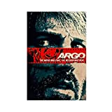 Filmserie Argo Retro Poster Leinwand Poster Schlafzimmer