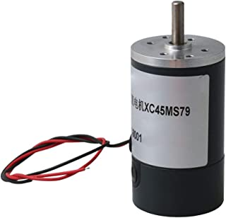 Mxfans DC 12V High Speed Magnetic Brush 660 Motor for Binding Machine 5000 RPM