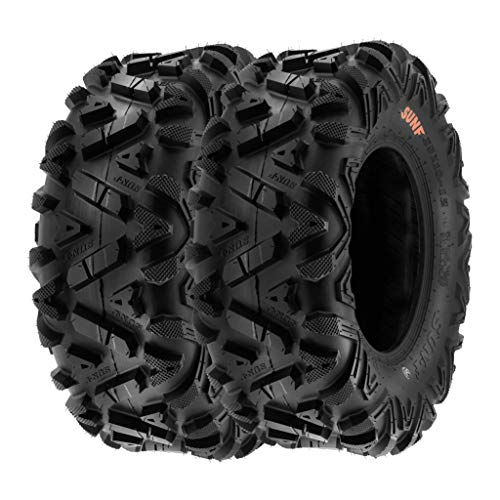 SunF A033 26x11-14 26x11x14 Quad ATV UTV SxS Neumáticos Power I All Terrain terrain con permiso de circulación 6PR TL 70J E, juego de 2 unidades