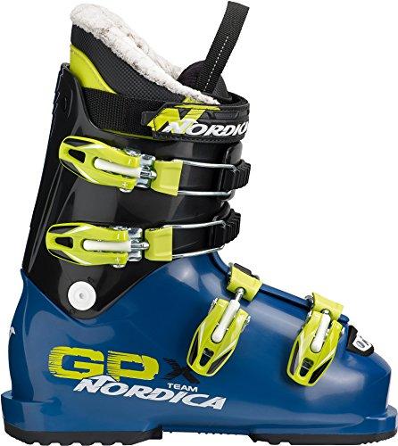 Nordica Kinder GPX Team Skischuhe blau 21.5