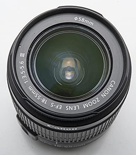Canon Ef-S 18-55 Mm 1 3 5-5 6 IIi - Objetivo Zoom Para Cámara Digital Eos