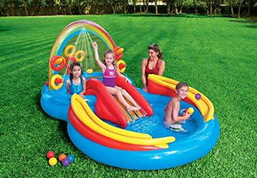 Intex 57453NP billar para niños - Billares para niños (Multicolor, Forma de 8, 428 L, 2970 mm, 1930 mm, 1350 mm) , color/modelo surtido