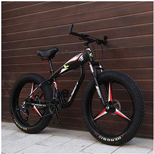 Fantastic Deal! MKWEY 26 Inch Mens Womens Mountain Bikes, Fat Tire Hardtail MTB Bikes, Aluminum Fram...