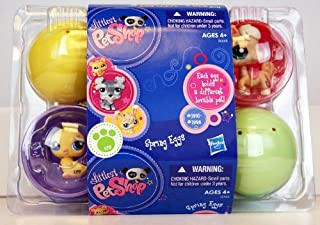 Littlest Pet Shop 2011 Spring Eggs 6 Pack of Figures