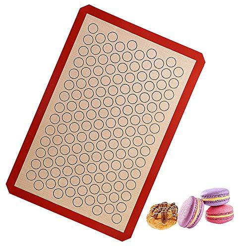 Lidylinashop Tapis Patisserie Tapis Cuisson Silicone Tapis de Cuisson Plaque à pâtisserie antiadhésive Plaques à pâtisserie Non bâton réutilisable
