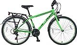 T 26 Zoll Kinderfahrrad Cityfahrrad Kinder Herren City Fahrrad Bike Rad Jugendfahrrad Jungenfahrrad 21 Gang Voltage Man GRÜN TYT19-047