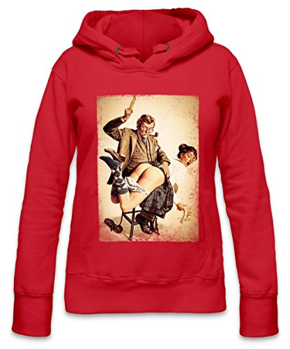 The Whippin Ass Sexy Punishment Womens Hoodie X-Large