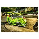 artboxONE Poster 90x60 cm Sport/Motorsport Karussellfahrt