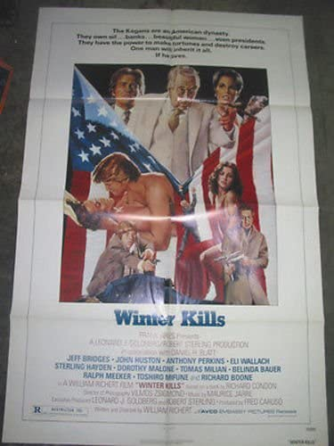 WINTER KILLS supreme ORIGINAL U.S. ONE-SHEET BRIDGE JEFF POSTER Max 50% OFF MOVIE