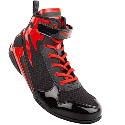 Venum Giant Low Boxing Shoes - Black/Red - 37 (US 4.5)