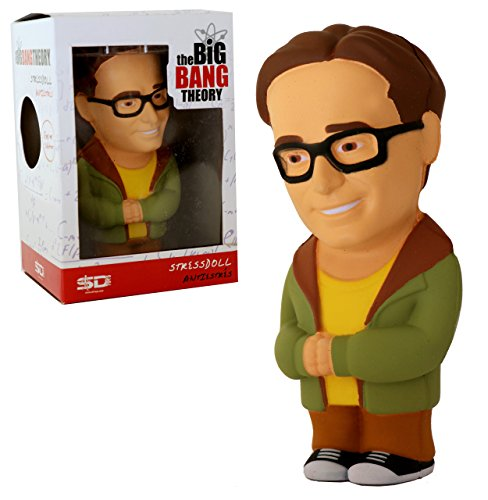 Unbekannt The Big Bang Theory Anti-Stress-Figur Leonard Hofstadter 14cm