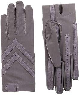 ISOTONER Spandex Shortie Gloves (Unlined) - A30101 (Dusty Lavendar, L/XL)