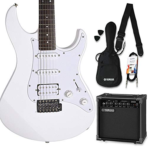YAMAHA PACIFICA012 ヤマハアンプセット ホワイト エレキギター 初心者 セット パシフィカ ヤマハ