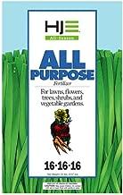 Howard Johnsons 7133 All Purpose Fertilizer 16-16-16 20lb, 20 lb, Brown/A