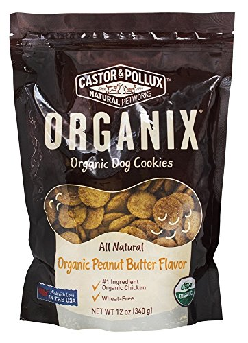 Castor & Pollux - Organix Organic Dog Cookies Organic Peanut Butter Flavor - 12 oz.
