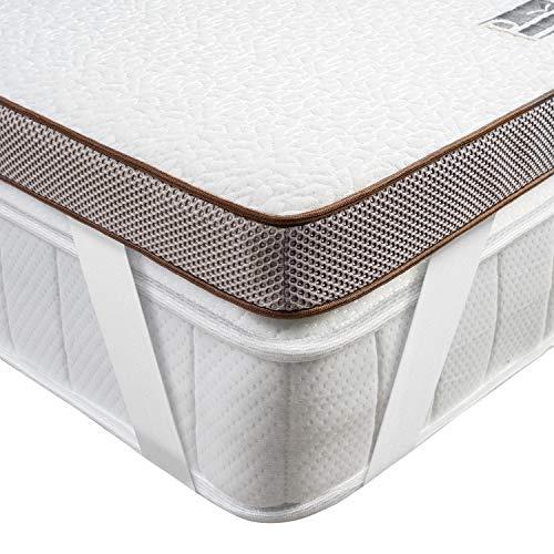 BedStory Cubrecolchón con Memoria de Forma con Gel de Nueva tecnología más refrigerante - Funda...