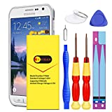Galaxy S6 Active Battery, [Upgraded] Euhan 3700mAh Li-Polymer Internal Replacement Battery EB-BG890ABA for Samsung Galaxy S6 Active SM-G890 G890A G890F with Repair Kit Tools [24 Month Warranty]