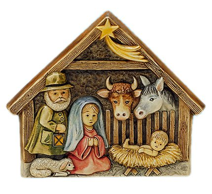KnorrPrandell 2714026 Weihnachtskrippe, 20 x 17 cm