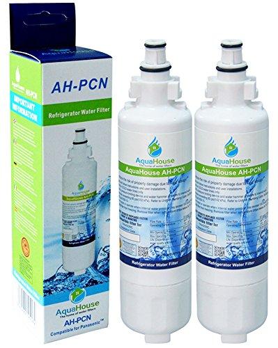 2x AquaHouse AH-PCN filtro de agua compatibles para Panasonic nevera CNRAH-257760, CNRBH-125950