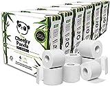 The Cheeky Panda – Papel Higiénico de Bambú   6 Paquetes de 4 Rollos (24 Rollos en Total)   3 Capas, Sin Plástico, Ecológico, Súper Suave, Duradero y Sostenible