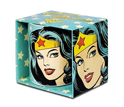 Logoshirt DC Comics - Wonder Woman Portrait Porzellan Tasse - Kaffeebecher - türkis - Lizenziertes Originaldesign