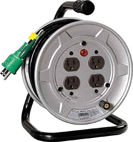 日動工業:nichido 電工ドラム 標準型100vドラム 2芯 10m ソフト電線 仕様:●単相1 Ns-e14