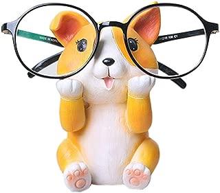 Puppy Dog Glasses Holder Stand Eyeglass Retainers Sunglasses Display Cute Animal Design Decoration (Corgi)