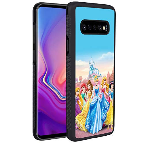 DISNEY COLLECTION Phone Case for Samsung Galaxy S10 Disney Princess Pamper Party Slim Soft Shockproof TPU Cover Shell Case