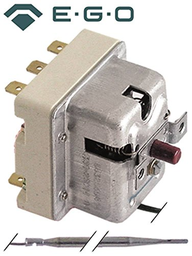 EGO 51.64945.010 Sicherheitsthermostat für Dampfgarer Rational CM201, CM101, CD101, CD201, CD20, CM62, Küppersbusch ECD220 CNS