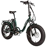 Monster 20″ LOW-e-Bike Plegable - Suspensión Delantera - Motor 500W (Verde)