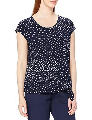 Cecil Damen 341377 Bluse, deep Blue, Large (Herstellergröße:L)