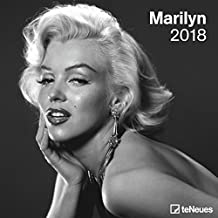 2018 Marilyn Calendar - teNeues Grid Calendar - Photography Calendar - 30 x 30 cm