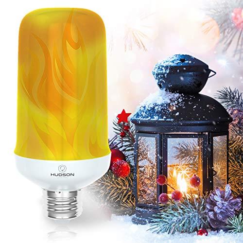 LED Flame Effect Light Bulb: E26 Standard Base Flame Bulb - Upside Down Effect - 3W - 200 Lumen -...
