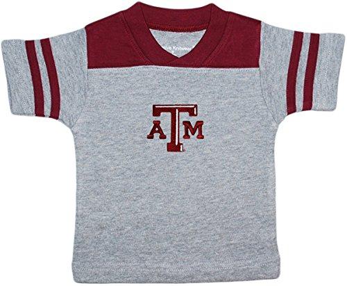 Creative Knitwear Texas A&M University Aggies Baby Sport Shirt Maroon