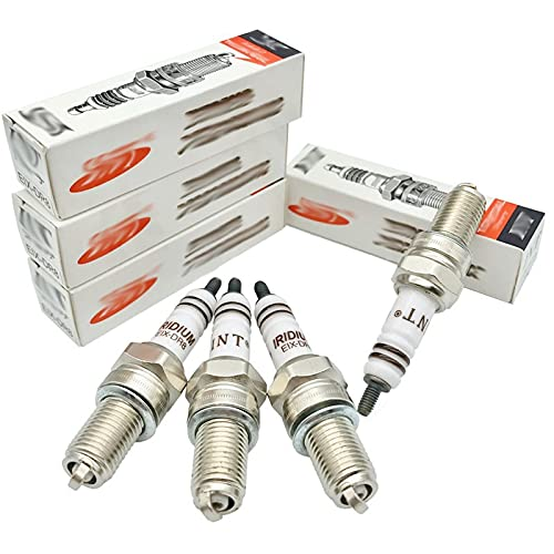 Candela 10pcs Iridium Motor Spark Plug Eix-DR8 D8EIX / Fit per DPR8EIX-9 DPR8ea-9 DR8EIX DR8EA DR8EGP IX24 IX24B X24ESRZ-U X24ESZU9 R6G A6G (Color : EIX DR8)