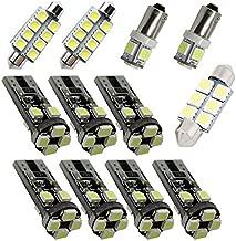 For Range Rover Evoque Suv Led Interior Lights Land Rover Led Interior Car Lights Bulbs Kit White 8pcss 2012-2018