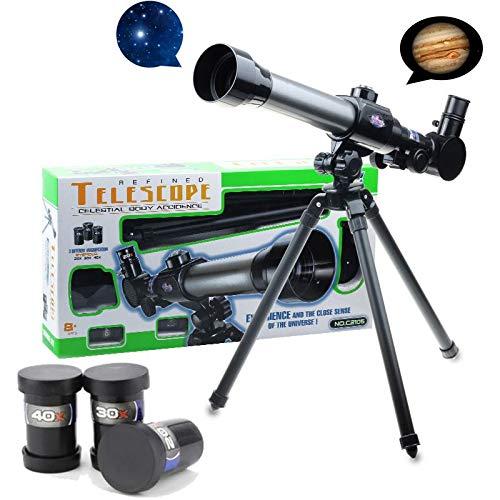 LHQ-HQ Estudiantes Experimental astronómico monocular telescopio Ciencia educación cognitivo Juguete Camping Senderismo monocular con trípode